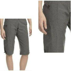 Merrell Opti Wick UPF 50+ Grey Board Shorts Sz 8